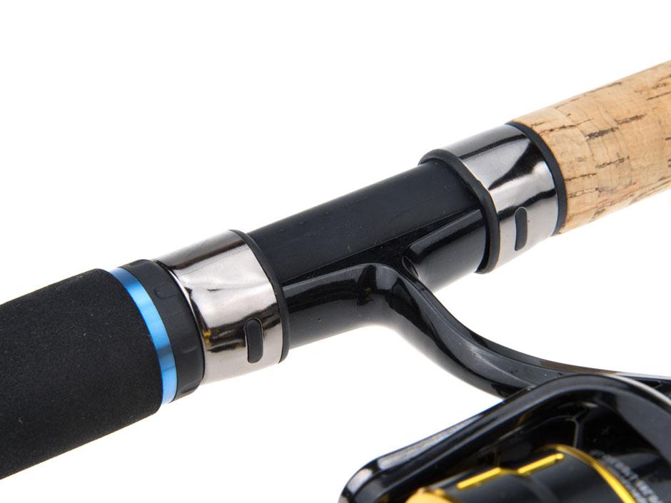 Rutengriff-und-Rollenhalter-einer-Angelrute