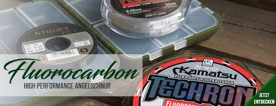 Fluorocarbon & Hybridschnur
