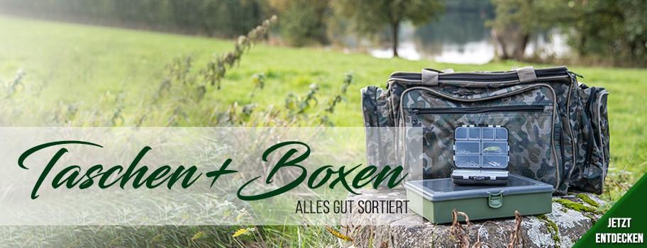 Taschen, Boxen & Co.