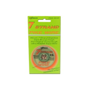 Drennan Pike Wire 12kg Stahlvorfach