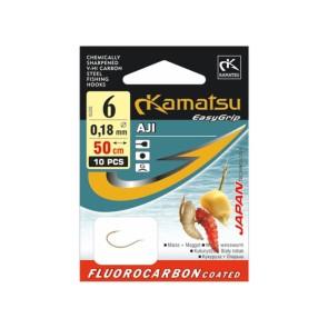 Kamatsu Aji 50cm Fluorocarbon Vorfächer Mais/Made