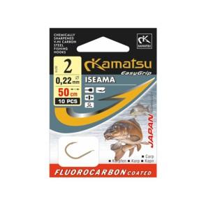Kamatsu Iseama 50cm Fluorocarbon Vorfächer Karpfen