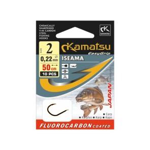 Kamatsu Iseama 50cm Fluorocarbon Vorfächer Carp Pro