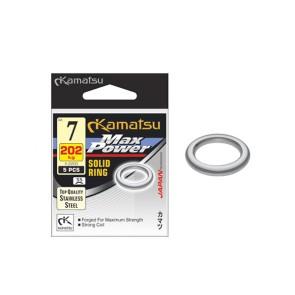 Kamatsu Max Power Edelstahl-Solid Rings