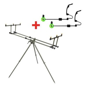 Rod Pod Elite 3 Ruten + 2 Swinger GRATIS