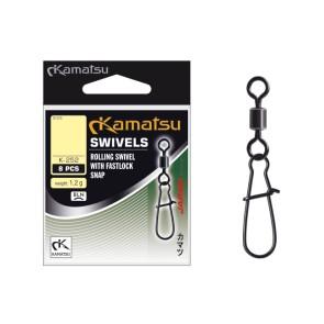 Kamatsu Rollwirbel mit Fastlock Snap