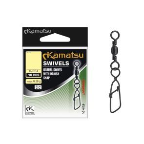 Kamatsu Rollwirbel mit Danish Snap