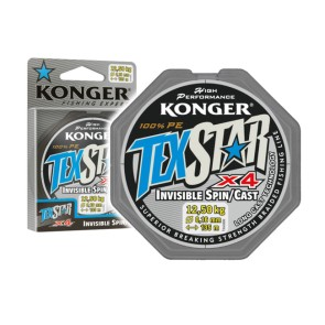 Konger Texstar Invisible Spin/Cast 135m