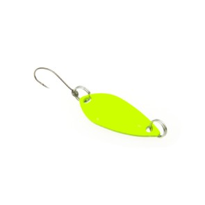 Trout Spoon 22 Fluo Yellow 2,2 g Forellenblinker