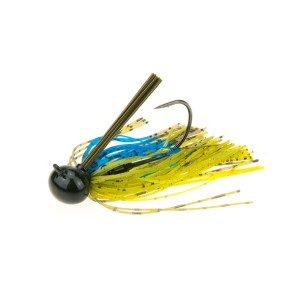 B8LAB Tungsten Football Jig Bluegill Flash 14g